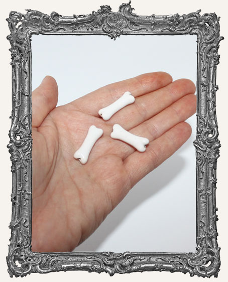 Small Ceramic Bone Bead