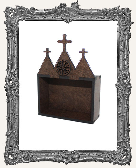 Mini DOTD Shrine Kit - Wide Gothic Church