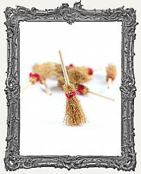 Miniature Broomsticks - Set of 2