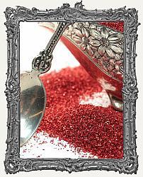 German Glass Glitter 1oz Jar - Red