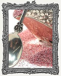 German Glass Glitter 1oz Jar - Sea Shell Pink