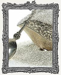 German Glass Glitter 1oz Jar - Silver