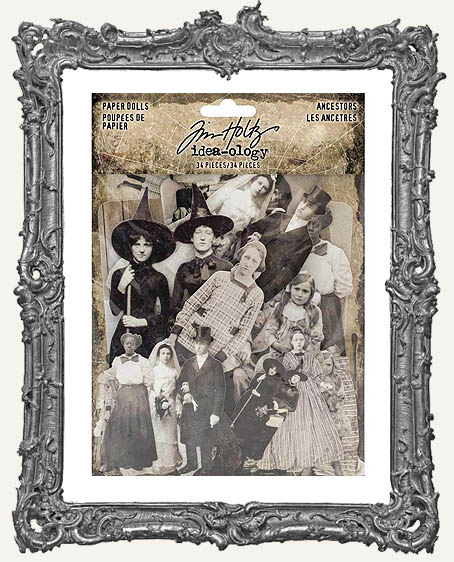 Tim Holtz - Idea-ology - Ancestors Paper Dolls Die-Cuts