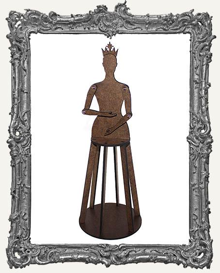 3-D Articulated Santos Cage Doll Shrine Kit - LARGE