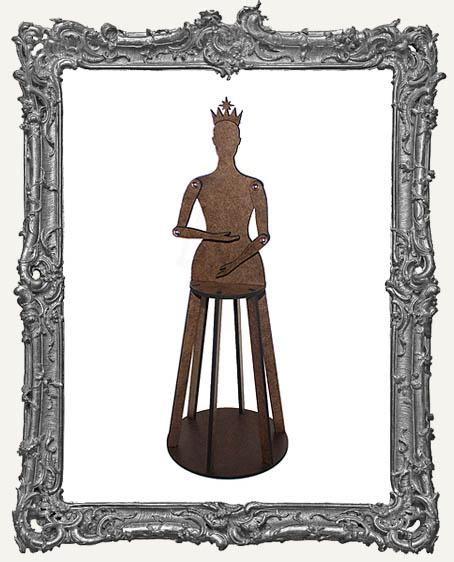 3-D Articulated Santos Cage Doll Shrine Kit - MEDIUM