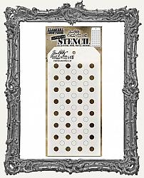 Tim Holtz Layering Stencils - SHIFTER DOTS