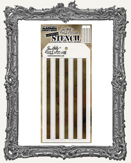 Tim Holtz Layering Stencils - SHIFTER STRIPES