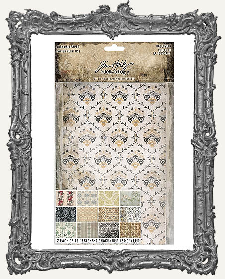 Tim Holtz - Idea-ology - Halloween Worn Wallpaper