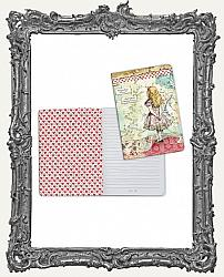 Stamperia Lined Notebook A5 - Alice in Wonderland