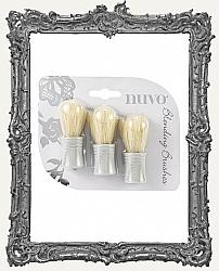 Nuvo Mixed Media Blending Brushes - 3 Pack