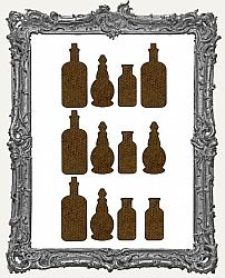 Elixir Bottle Cut-Outs - 12 Pieces
