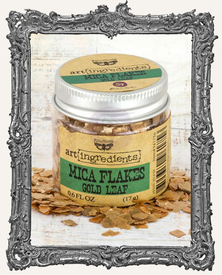 Finnabair - Art Ingredients - Mica Flakes - Gold Leaf
