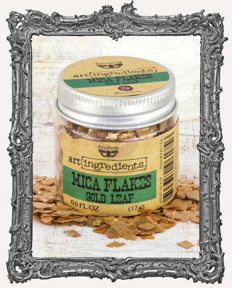 Finnabair - Art Ingredients - Mica Flakes - Gold Leaf