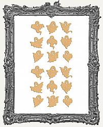 Mini Ghost Cut-Outs - 18 Pieces