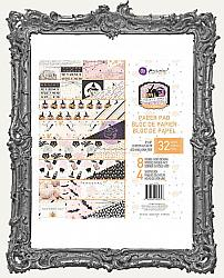Prima Marketing Vintage Halloween Double-Sided Paper Pad - Thirty-One - 8 x 8 Paper