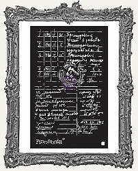 Prima Finnabair Stencil - Documented