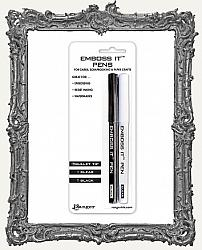 Ranger Emboss It Pens 2 Per Pack - Black and Clear