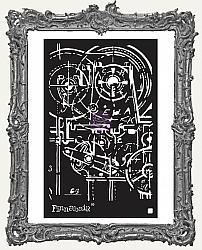 Prima Finnabair Stencil - Machinery