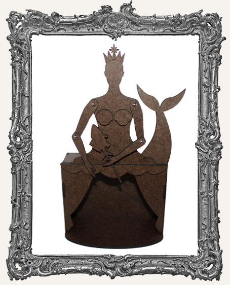 MEDIUM Theatre Art Doll Shrine Kit - Mermaid