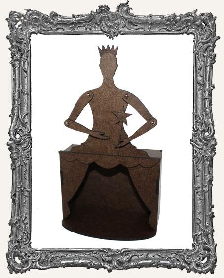 MEDIUM Theatre Art Doll Shrine Kit - The Queen