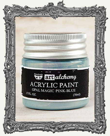 Finnabair - Art Alchemy - Acrylic Paint - Opal Magic - Pink-Blue