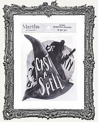 Martha Stewart Crafts Halloween Witching Hour Die-Cut Decorations - 9 Pieces