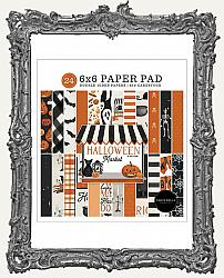 6X6 Carta Bella Double-Sided Paper Pad - Halloween Market