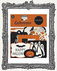 Carta Bella Halloween Market Cardstock Die-Cuts Ephemera 33 Pieces