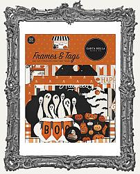 Carta Bella Halloween Market Cardstock Die-Cuts Frames and Tags 33 Pieces