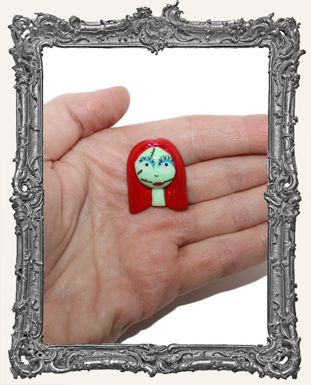 Resin Nightmare Before Christmas Cabochon - Sally