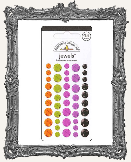 Doodlebug Halloween Assorted Jewels
