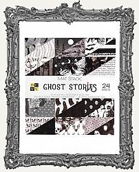 6X6 DCWV Double Sided Cardstock Halloween Paper Pad - Ghost Stories