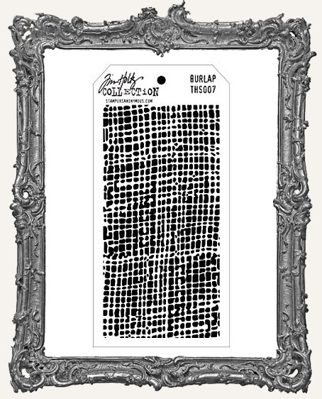 Tim Holtz Layering Stencils - BURLAP