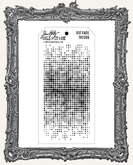 Tim Holtz Layering Stencils - DOT FADE