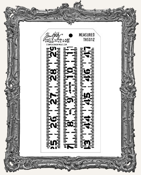 Tim Holtz Layering Stencils - MEASURED