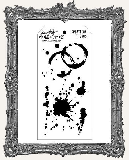 Tim Holtz Layering Stencils - SPLATTERS