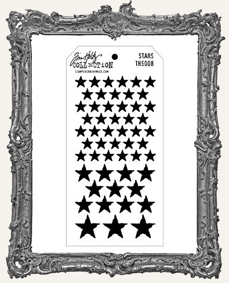 Tim Holtz Layering Stencils - STARS
