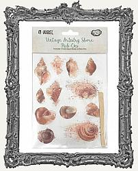 49 And Market Collection Vintage Artistry Shore Rub-Ons Pack of 3