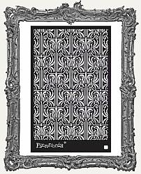 Prima Finnabair Stencil - Iris Tapestry