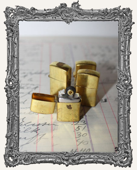 Vintage Mini Brass Lighter