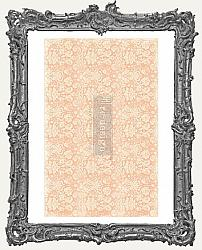 Prima Marketing Re-Design Mulberry Tissue - Peach Damask