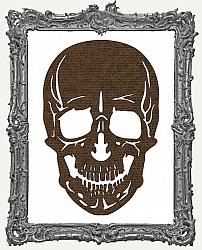 Mixed Media Creative Surface Board - Layered Gothic Skull