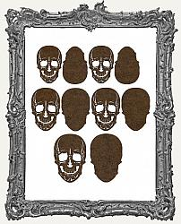 Gothic Skull Cut-Outs - 10 Pieces