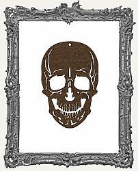 Layered Gothic Skull Ornament
