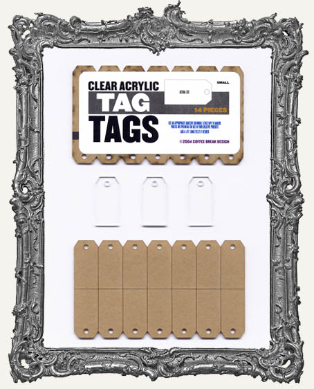Clear Acrylic Tags - TAGS