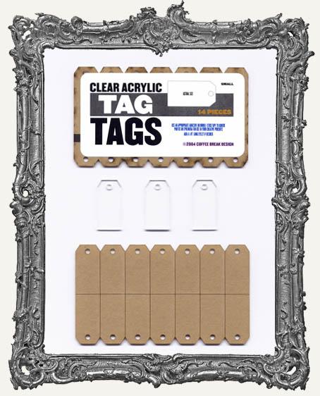 Clear Acrylic Tags - TAGS