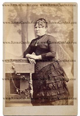 Bernadette Cabinet Card Digital Image