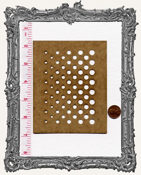 SMALL Gradone Circle Stencil