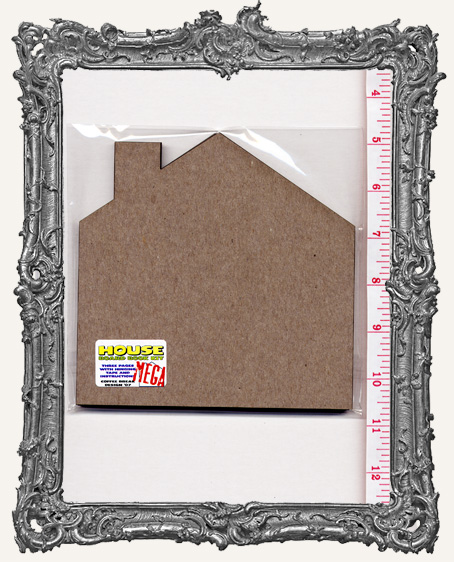Extra Large MEGA Chipboard House Book Kit