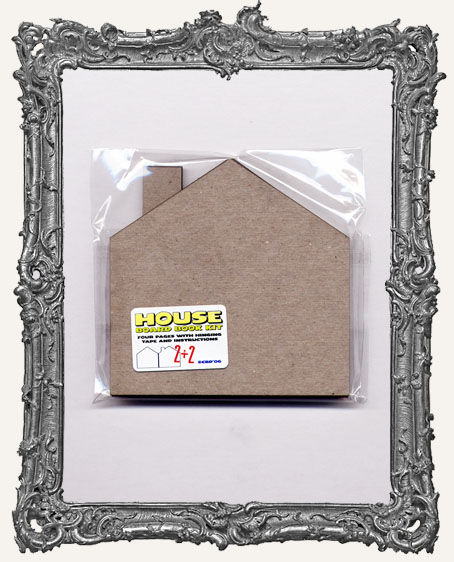 Large Chipboard House Book Kit